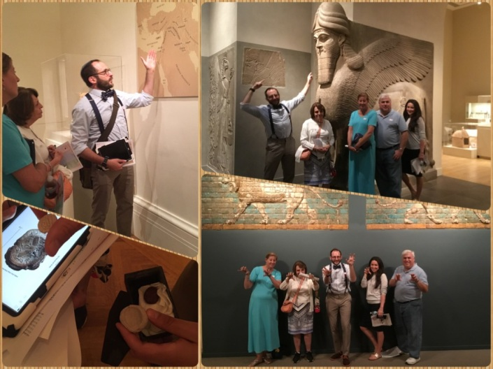 Tanach Tour July 23 collage