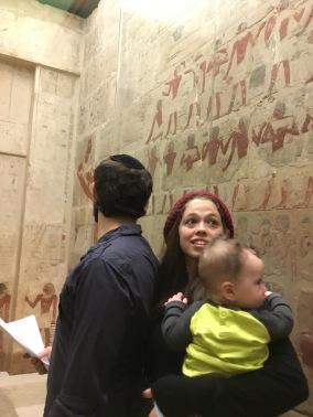 The Tepler family in Perneb's Tomb