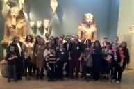 Photo shoot with Hatshepsut